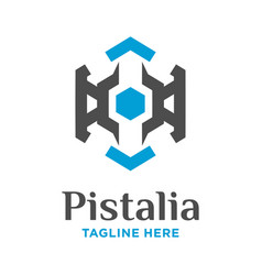 data security logo vector image