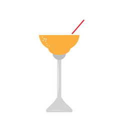 Isolated cocktail icon vector