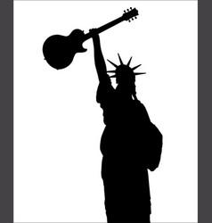Liberty rocks vector