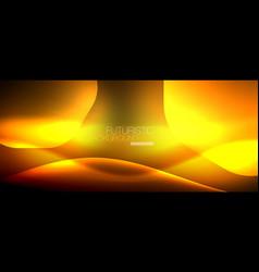 Neon hexagon background vector