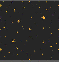Stars doodle art vector
