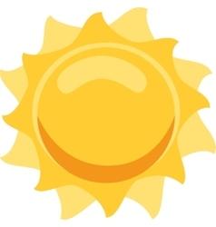 Sun isolated vector