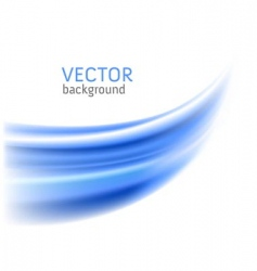 abstract blue wave backgrounds vector image vector image