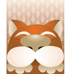 dream cat vector image