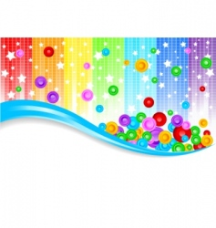 vector abstract colorful background vector image vector image