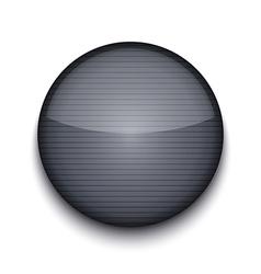 circle metal icon vector image