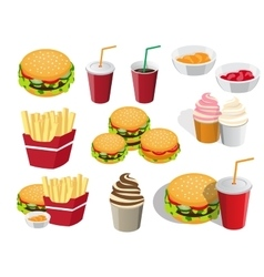 Fastfood vector