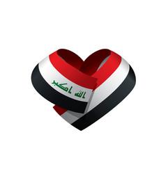 iraqi flag vector image