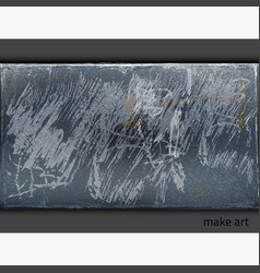 paintingwallbluegray vector image