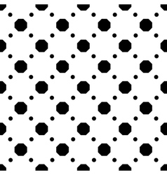 Polka dot geometric seamless pattern 3510 vector