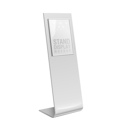 Retail Trade Stand stand banner vector