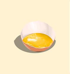 Rotten eggs vector