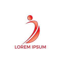 Therapeutic and holistic health center logo design vector