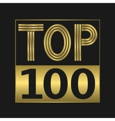 Top one hundred vector