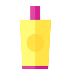 Coloured of a body lotion vector