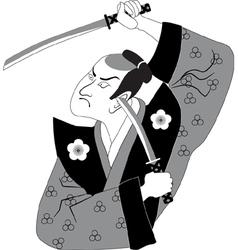 Samurai vector
