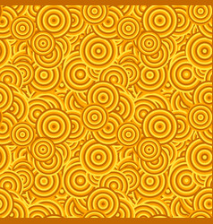 Abstract repeating circle pattern background vector