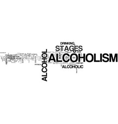 Alcoholism stages stages alcoholism you should vector