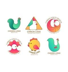 Chiken logo vector image