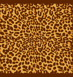 Leopard print and skin background vector