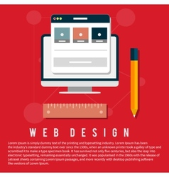 Program for design and architecture vector image