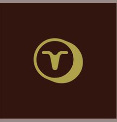 T letter logo icon design template element vector