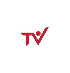 tv monitor icon vector image
