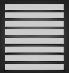 Shadows vector image vector image