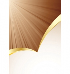 vector background in brown color vector image vector image