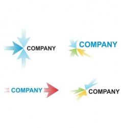 Arrow logos vector