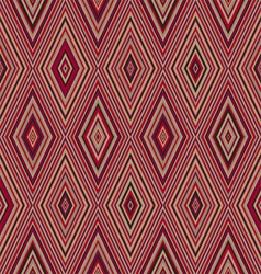 Colorful pattern with triangle and lines vector image