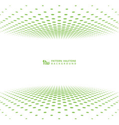abstract green halftone cover design decoration vector image