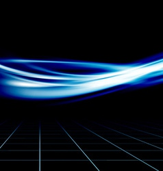 Blue futuristic abstract energy speed wave vector image