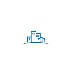 City building realty company logo vector