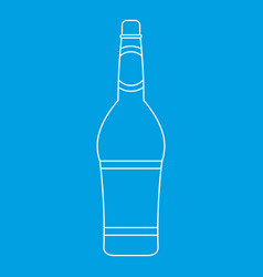 Design bottle icon outline style vector