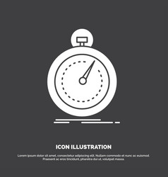 Done fast optimization speed sport icon glyph vector