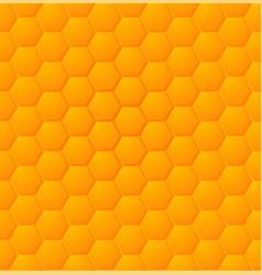 eps abstract honey hexagon seamless pattern vector image