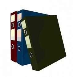 Folders vector