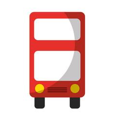 London bus transport vehicle icon vector