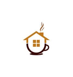property coffee logo icon design vector image