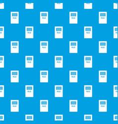 Riot shield pattern seamless blue vector