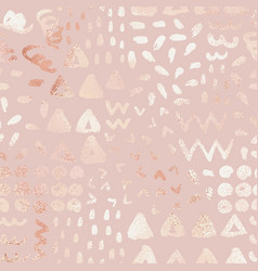 Rose gold abstract background elegant vector