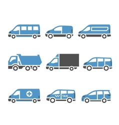 transport icons - a set of sixth vector image