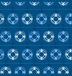 nautical background lifebuoy vector image