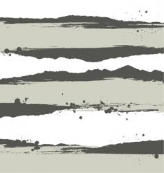 ink splatter vector image