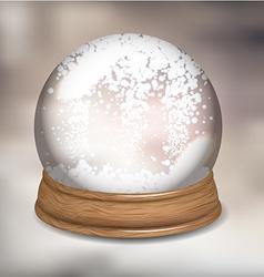Snowdome vector image