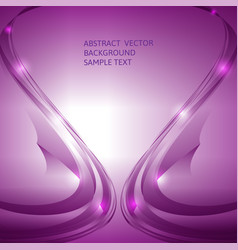 abstract purple curve background graphic vector image