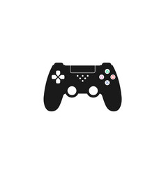 Controller joystick icon vector