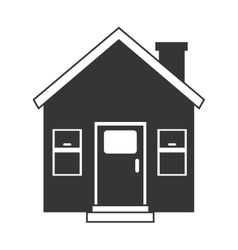 house home window door icon graphic vector image