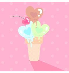 Love icecream 1 vector